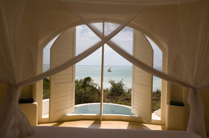 Kilindi Hotel, Zanzibar, vue mer