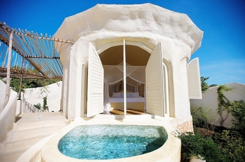 Kilindi Hotel, Zanzibar, villa avec piscine