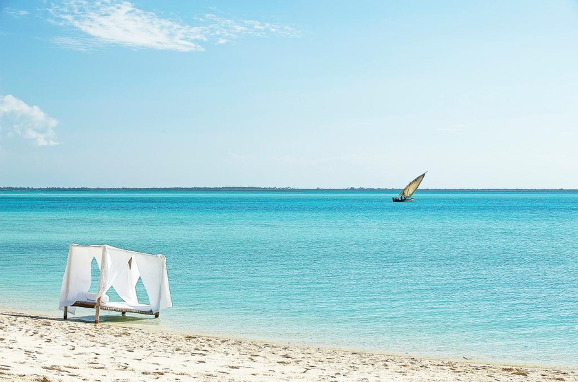 Kilindi Hotel, Zanzibar, plage