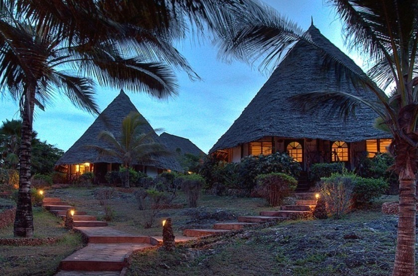Ras Nungwi, Zanzibar, bungalows