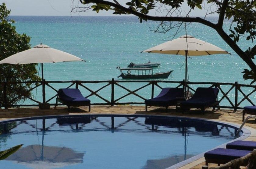 Ras Nungwi, Zanzibar, piscine