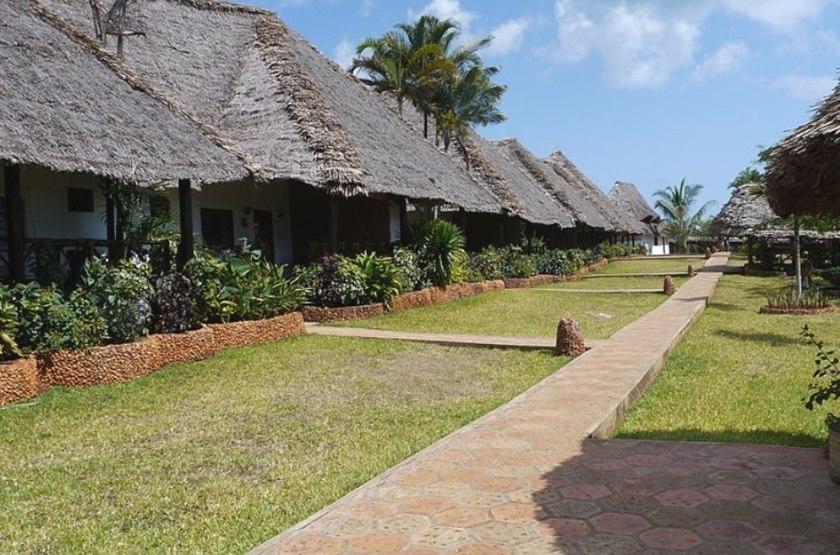 Ras Nungwi, Zanzibar, bungalows jardin