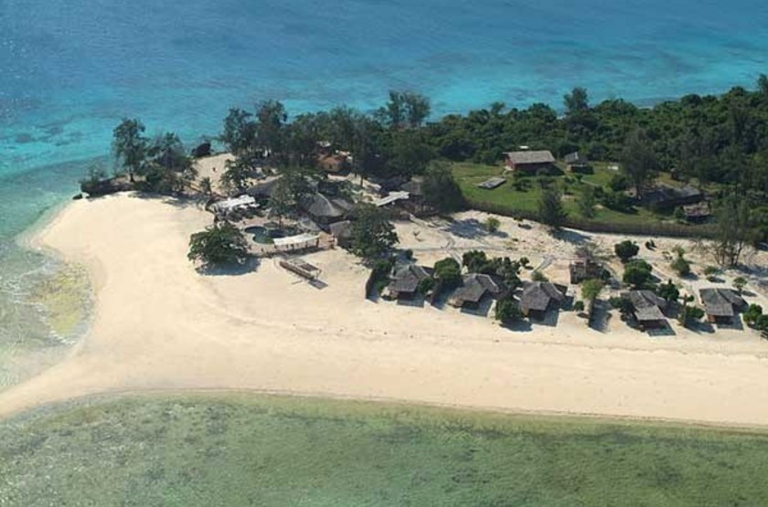 Bawe Tropical Island, Zanzibar, vue aérienne