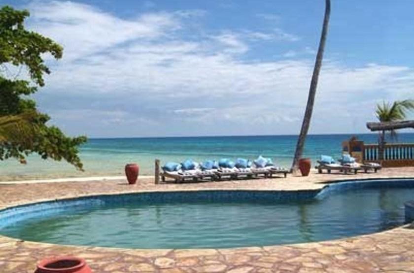 Bawe Tropical Island, Zanzibar, piscine