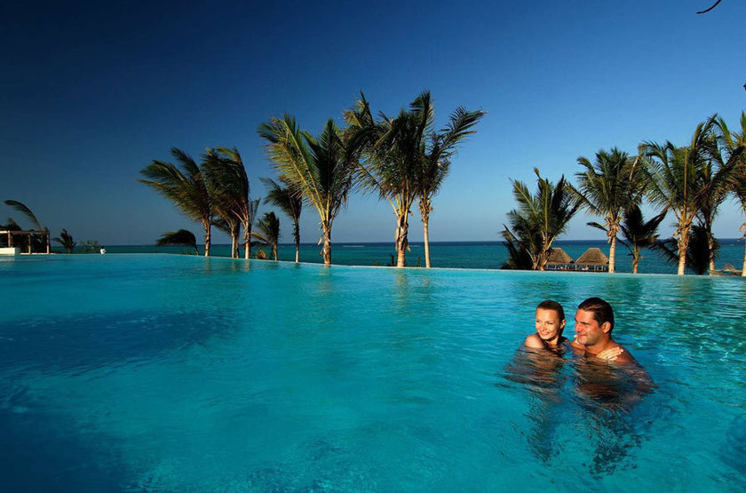 Melia  Kiwenga, Zanzibar, piscine