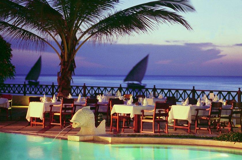 Zanzibar Serena Inn, Stone Town, Zanzibar, restaurant