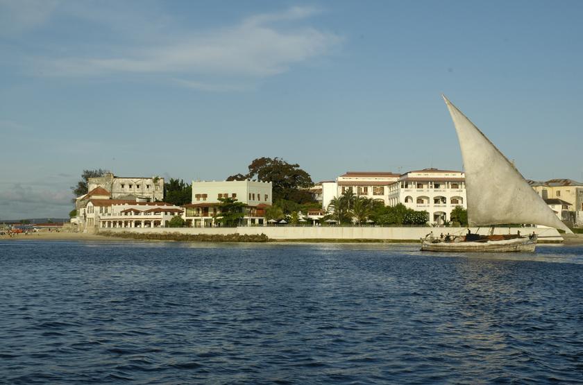 Zanzibar Serena Inn, Stone Town, Zanzibar, vue de la mer