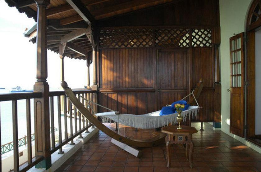 Zanzibar Serena Inn, Stone Town, Zanzibar, terrasse