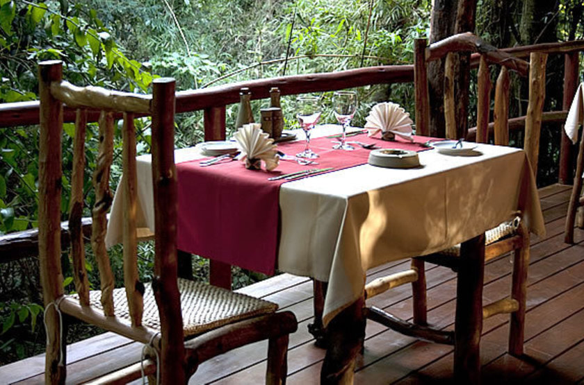 La aldea de la selva lodge   terrasse slideshow