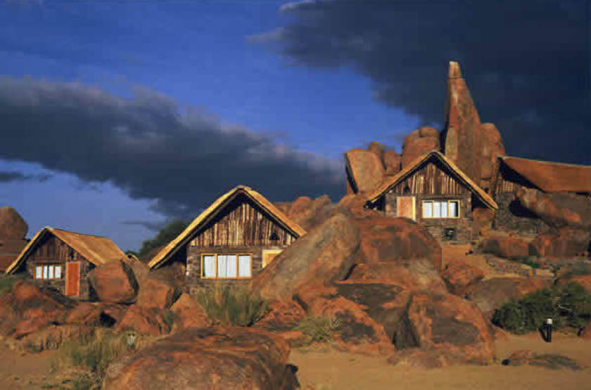 Canon Lodge, Fish River Canyon, Namibie