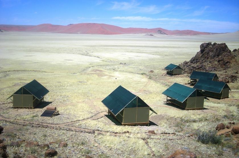 Kulala Adventurer Camp, Sossusvlei, Namibie, extérieur