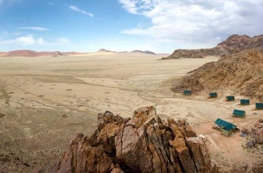 Kulala Adventurer Camp, Sossusvlei, Namibie, emplacement