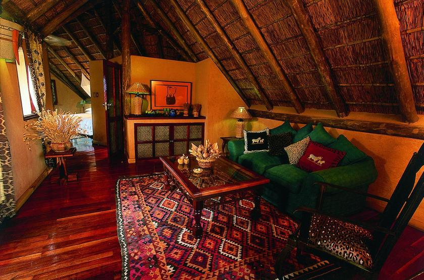 Deception Valley Lodge, Botswana, intérieur