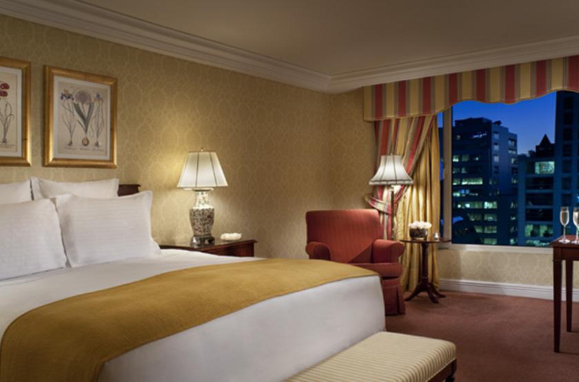 Ritz Carlton, Santiago, Chili, chambre