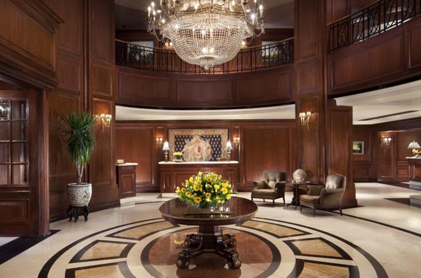 Ritz Carlton, Santiago, Chili, lobby