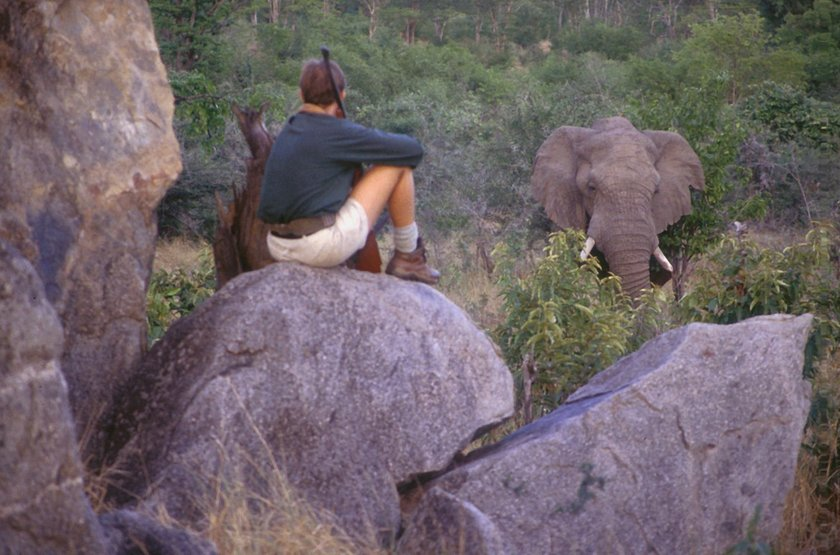 Kazuma Trails, Safari semi luxury, Botswana, safari à pied