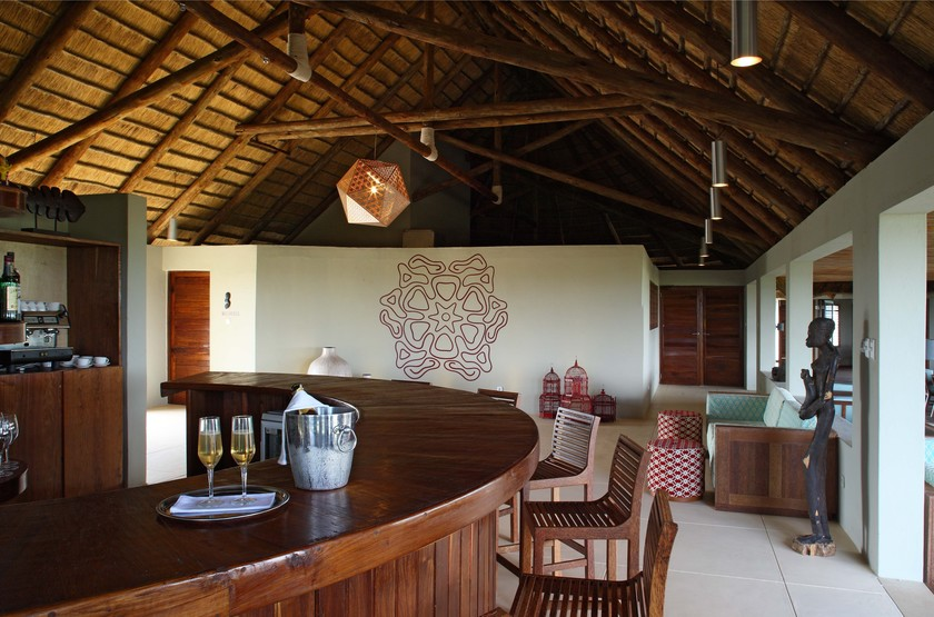 Coral Lodge, Reserve de Varanda, Mozambique, bar