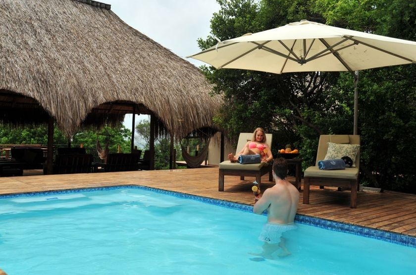 Machangulo Beach Lodge, Santa Maria, Mozambique, piscine