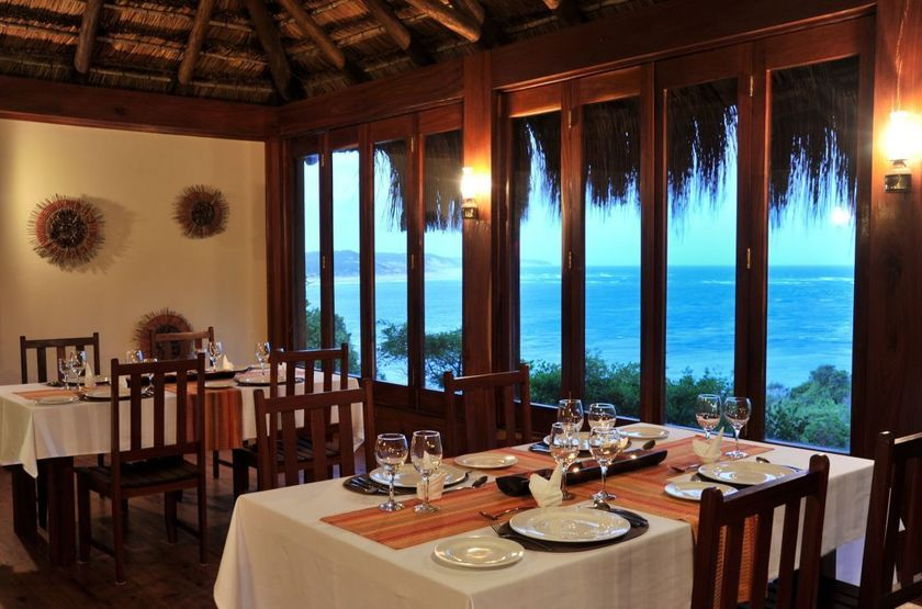 Machangulo Beach Lodge, Santa Maria, Mozambique, restaurant