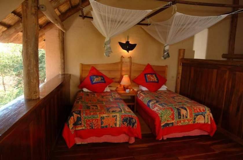 Lokothula Lodge, Victoria Falls, Zimbabwe, chambre