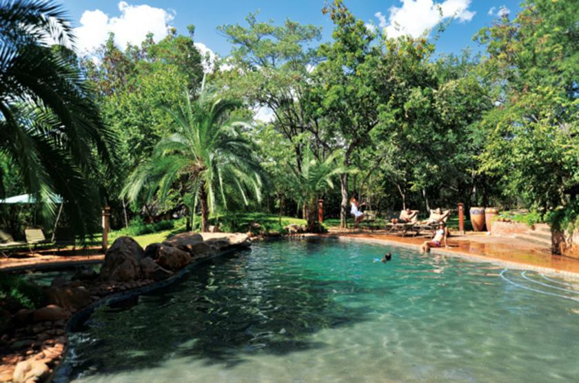 Lokothula Lodge, Victoria Falls, Zimbabwe, piscine