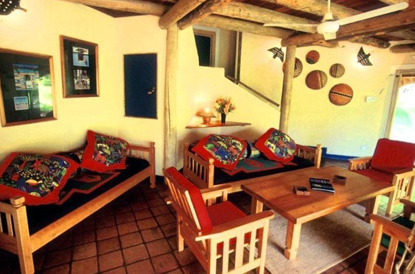 Lokothula Lodge, Victoria Falls, Zimbabwe, intérieur bungalow