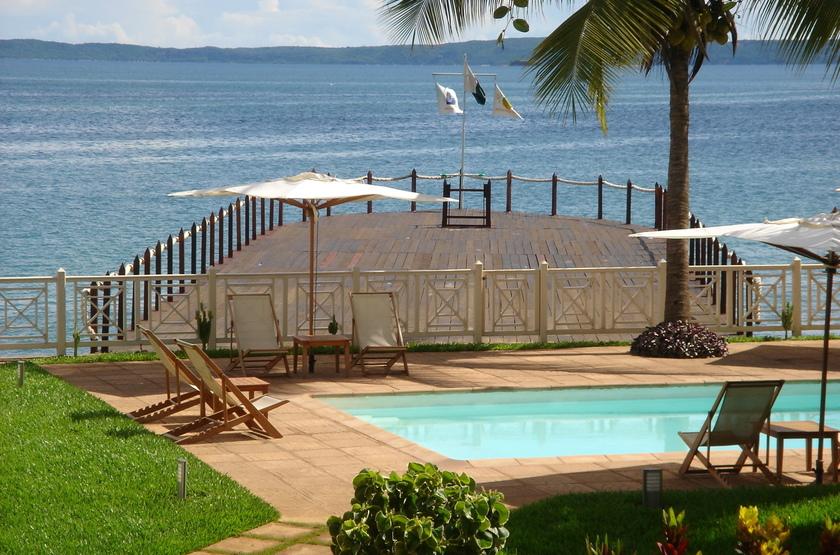 Allamanda hôtel, Diego Suarez, Madagascar, piscine