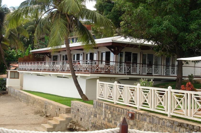 Allamanda hôtel, Diego Suarez, Madagascar, restaurant