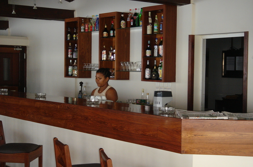 Allamanda hôtel, Diego Suarez, Madagascar, bar