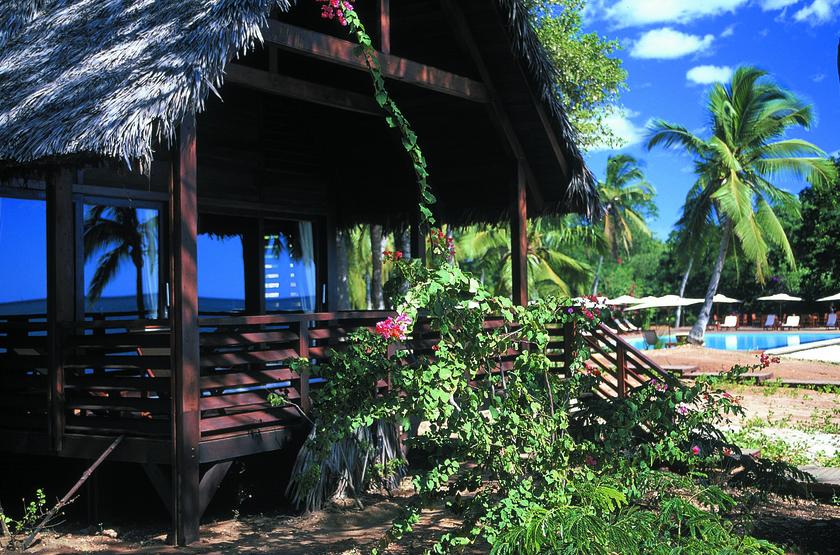Anjajavy, Madagascar, extérieur villa