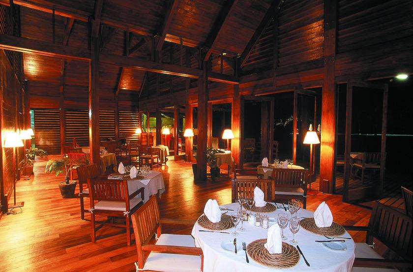 Anjajavy, Madagascar, restaurant