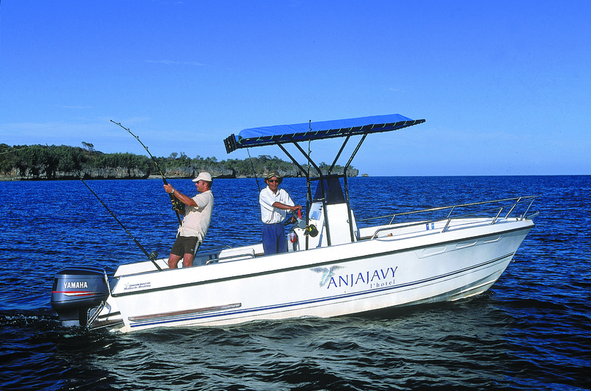 Anjajavy, Madagascar, pêche