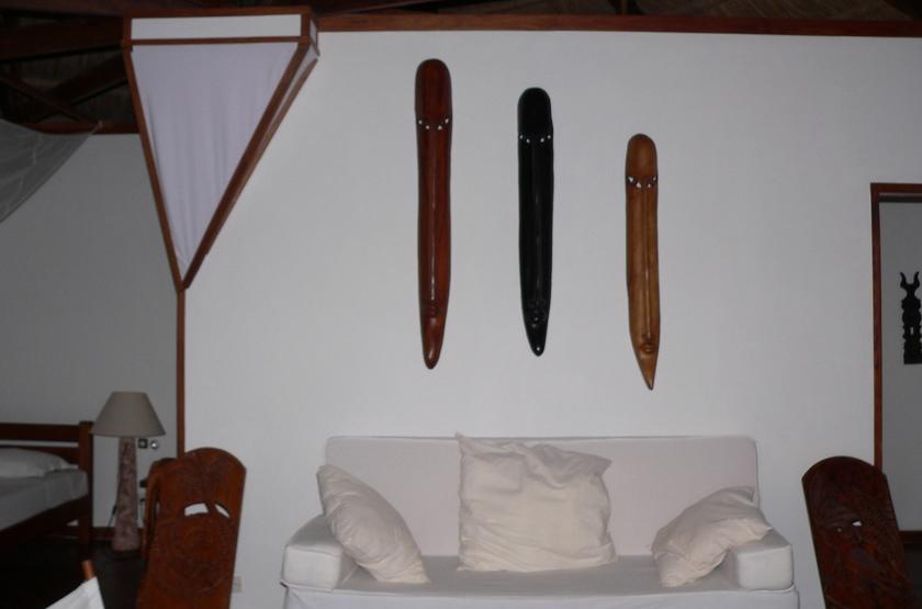 Anakao Ocean Lodge, Madagascar, chambre avec salon