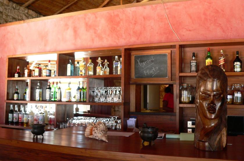 Anakao Ocean Lodge, Madagascar, bar