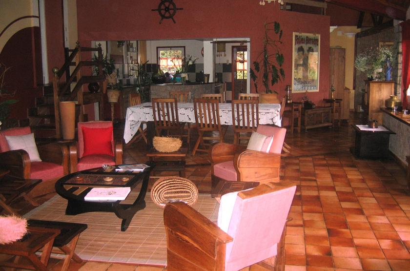 Couleur Café, Antsirabe, Madagascar, restaurant