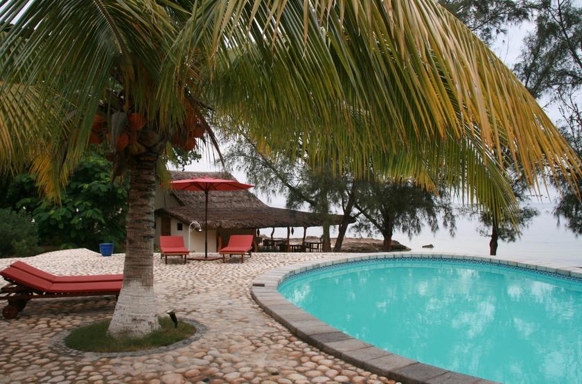 Les Dunes d'Ifaty, Tuléar, Madagascar, piscine