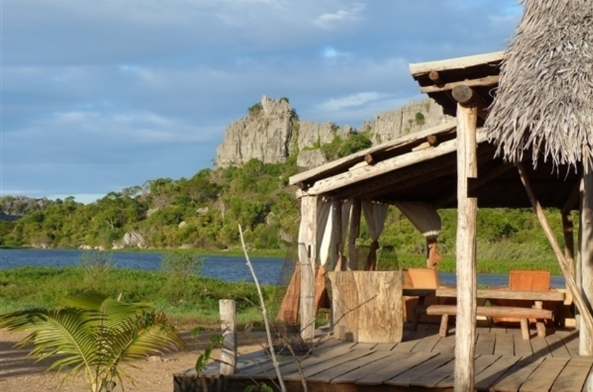 Iharana bush camp  tsingy de l ankarana   madagascar   patio slideshow