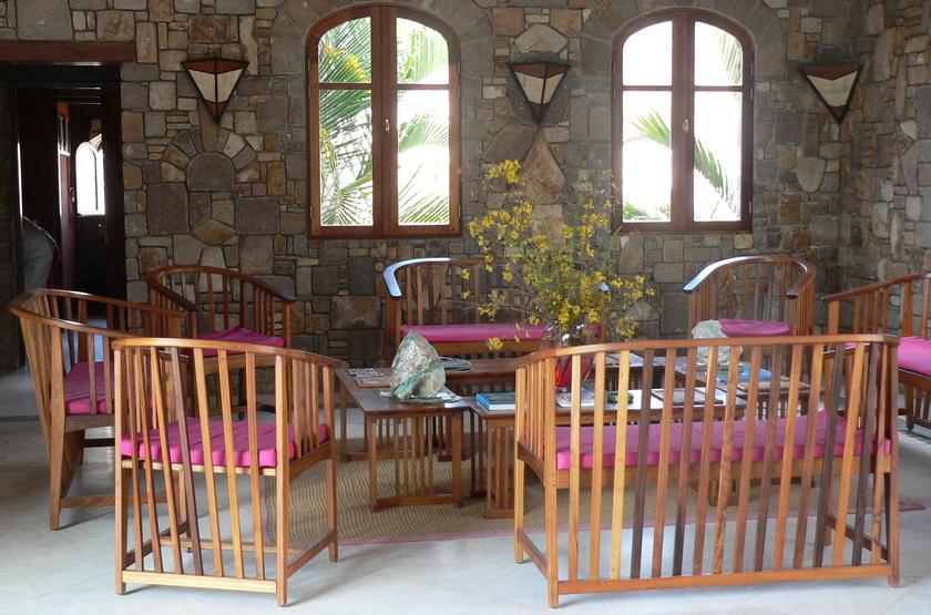 Jardin Du Roy, Ranohira, Isalo, Madagascar, restaurant