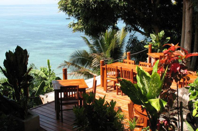 Jardin Vanille, Nosy Komba, Madagascar, restaurant