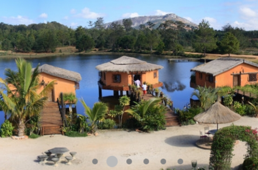 Lac Hôtel, Fianarantsoa, Madagascar, extérieur