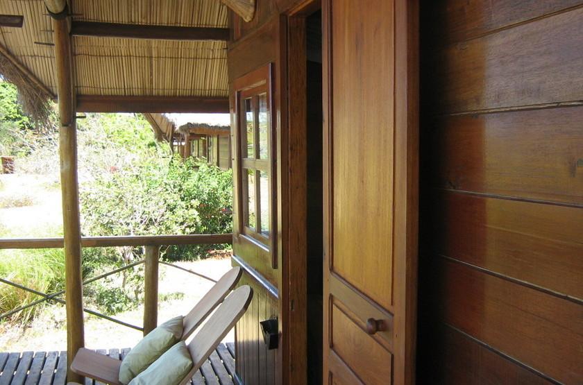Nature Lodge, Joffreville, Madagascar, terrasse