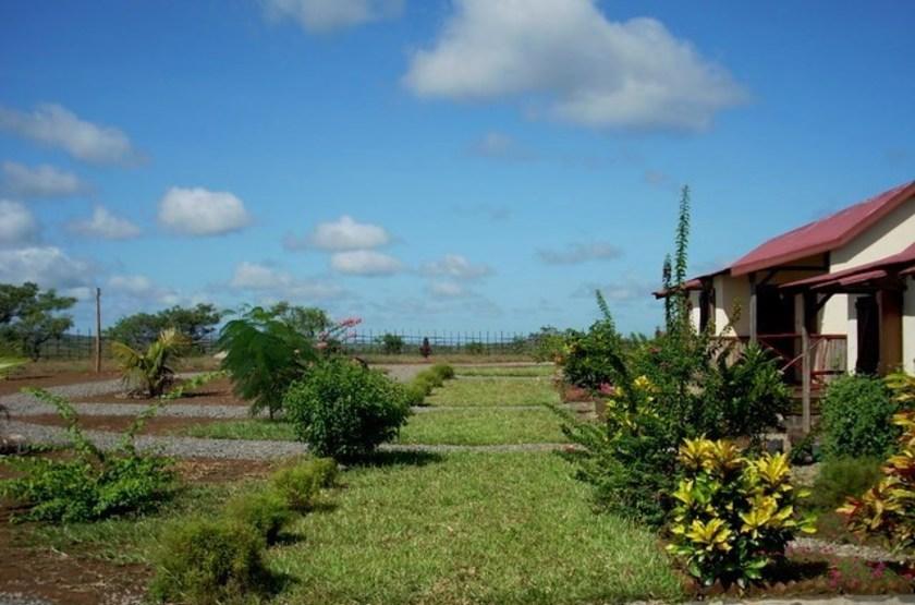 Relais de l'Ankarana, Diego Suarez, Madagascar, jardins
