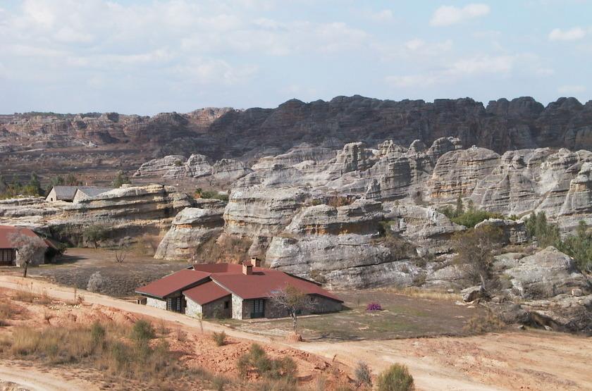 Relais de la Reine, Ranohira, Madagascar, emplacement