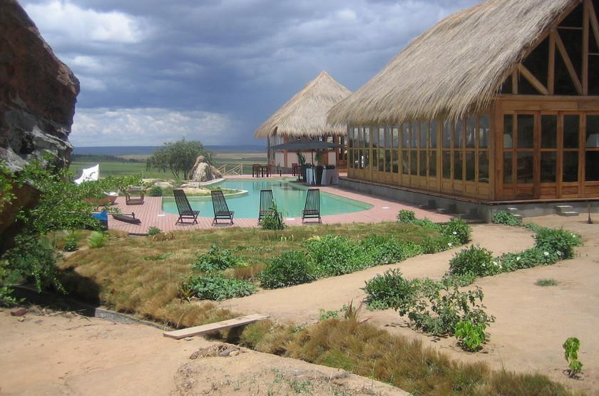Satrana Lodge, Ranohira, Madagascar, extérieur