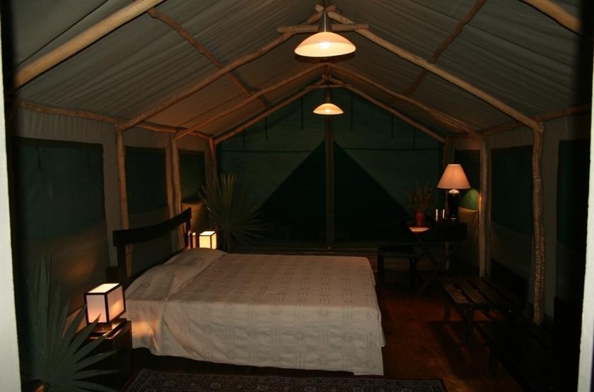 Satrana Lodge, Ranohira, Madagascar, intérieur