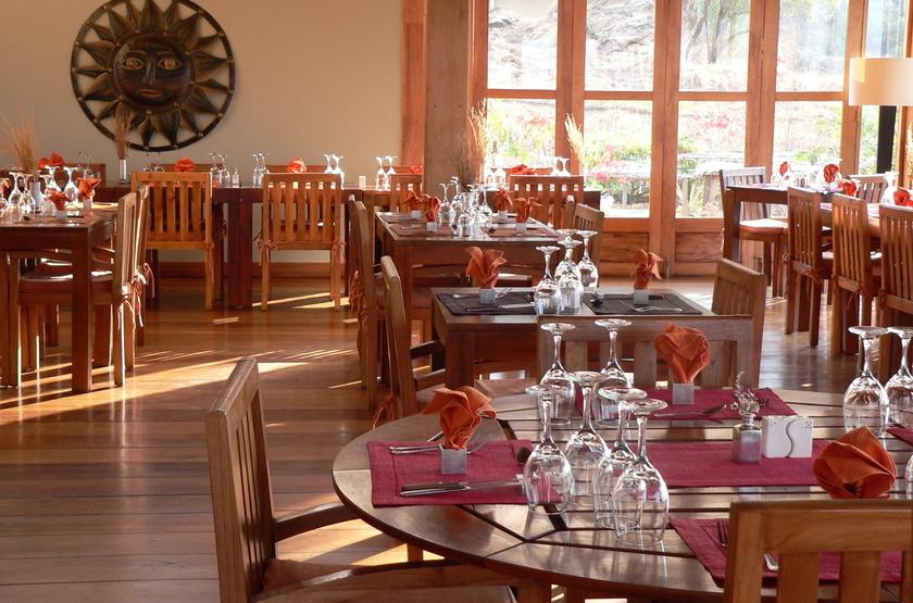 Satrana Lodge, Ranohira, Madagascar, restaurant