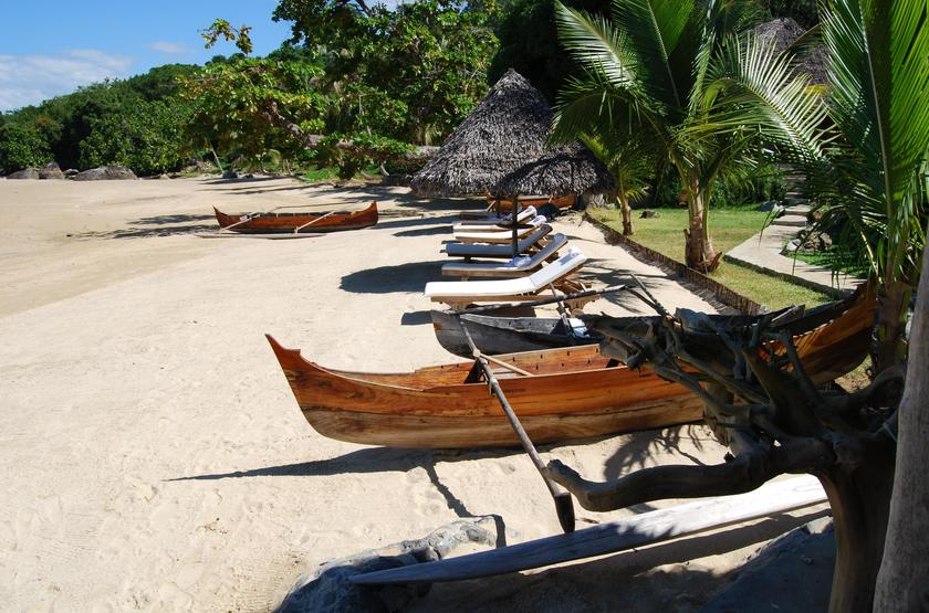 Tsara Komba, île de Nosy Komba, Madagascar, plage