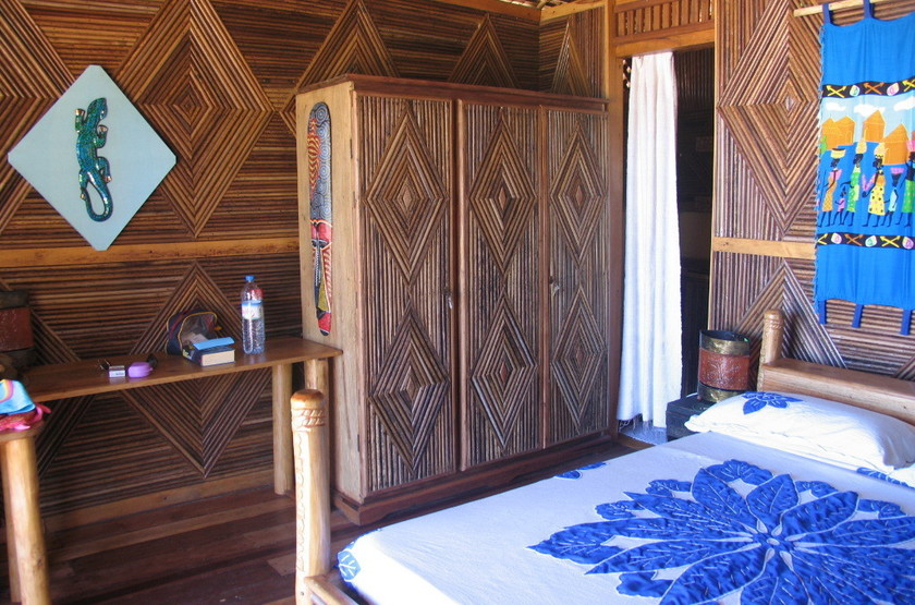 Le Zahir Lodge, Nosy Be, Madagascar, chambre
