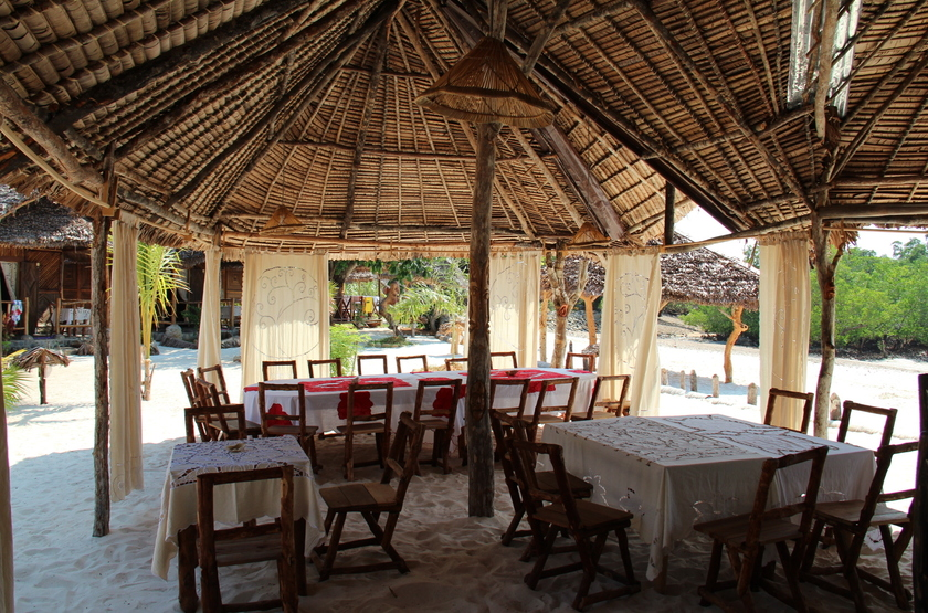 Le Zahir Lodge, Nosy Be, Madagascar, restaurant