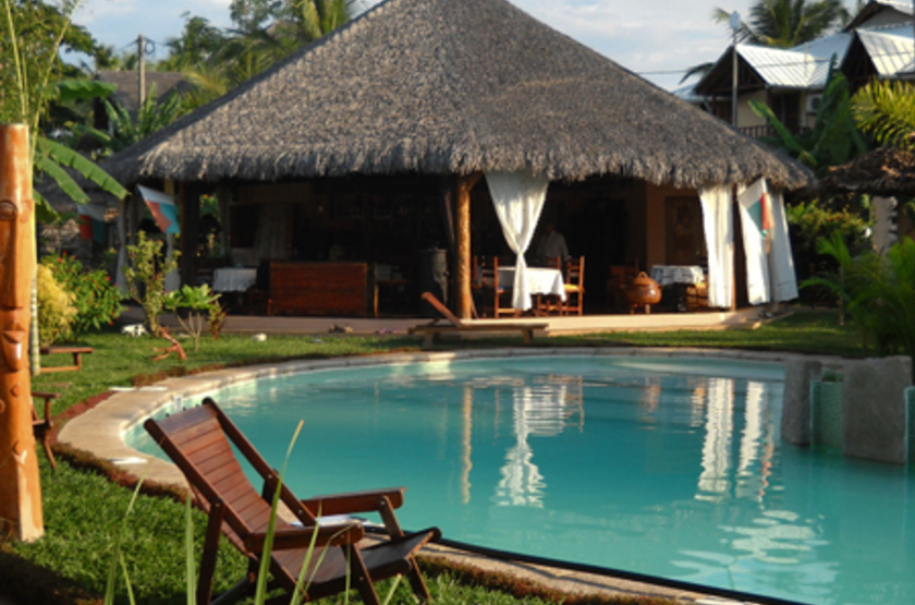 Le Zahir Lodge, Nosy Be, Madagascar, piscine